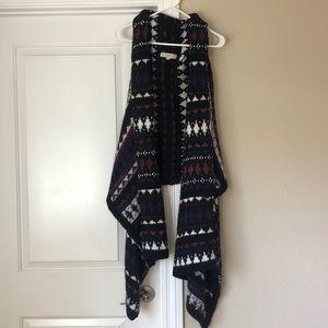 Loft Hi low Tribal Aztec Sweater